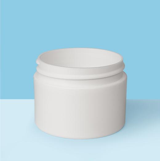 1oz 53mm Double Wall Plastic Jar