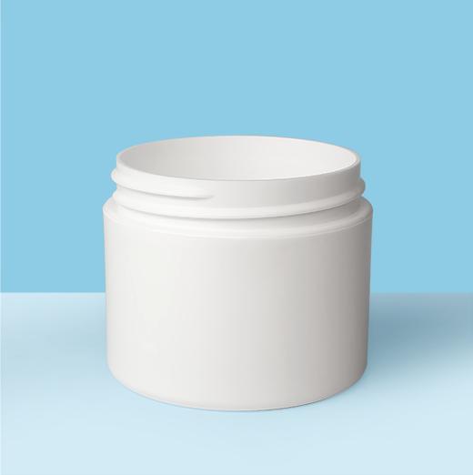 2oz 58mm Double Wall Plastic Jar