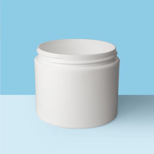 4oz 70mm Double Wall Plastic Jar