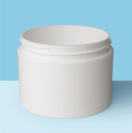 8oz 89mm Double Wall Plastic Jar
