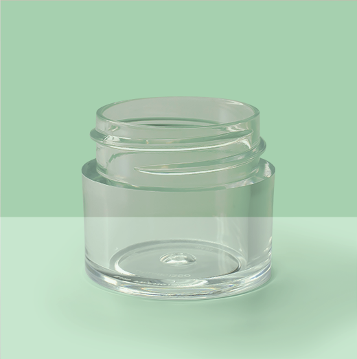 1/4oz 33mm Thick Wall Plastic Jar