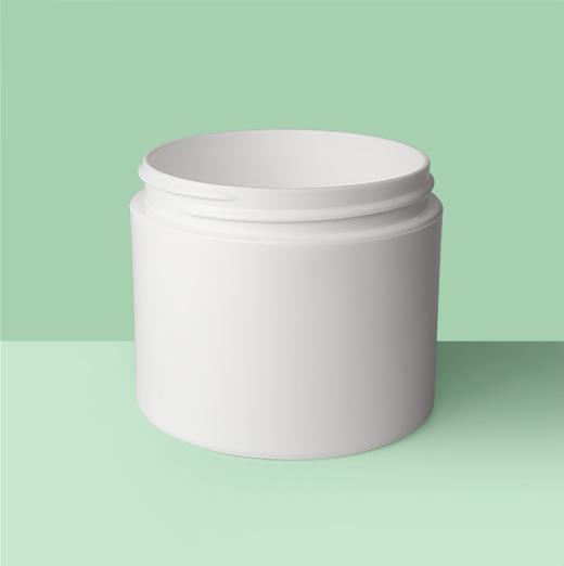 4oz 70mm-Double Wall Plastic Jar