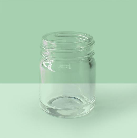 1oz-38mm Glass Jar.