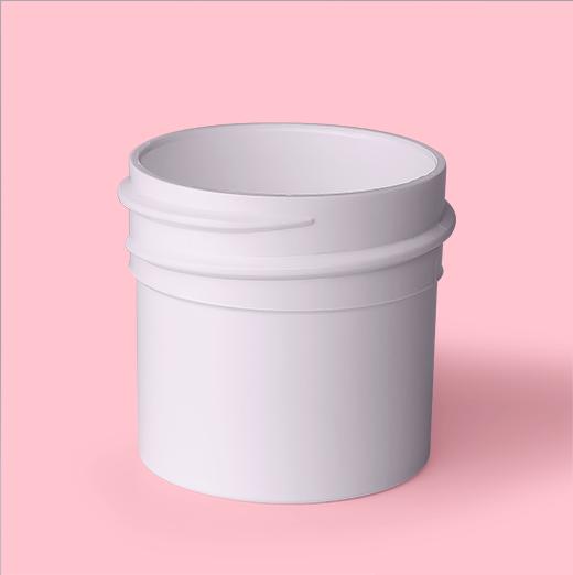 1/4oz 33mm Regular Wall Plastic Jar
