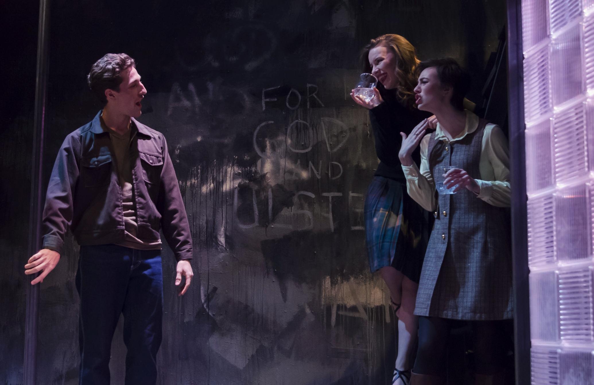The Honey Trap —  Boston Playwrights Theatre  Kalman Zabarsky Photography