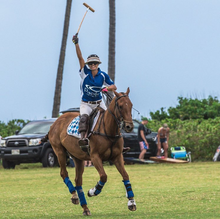 "Find your true passion, - but most importantly, find the people whom you can share it with.""-Tyneski Quintel, Hawaii Polo Academy Owner and operator"