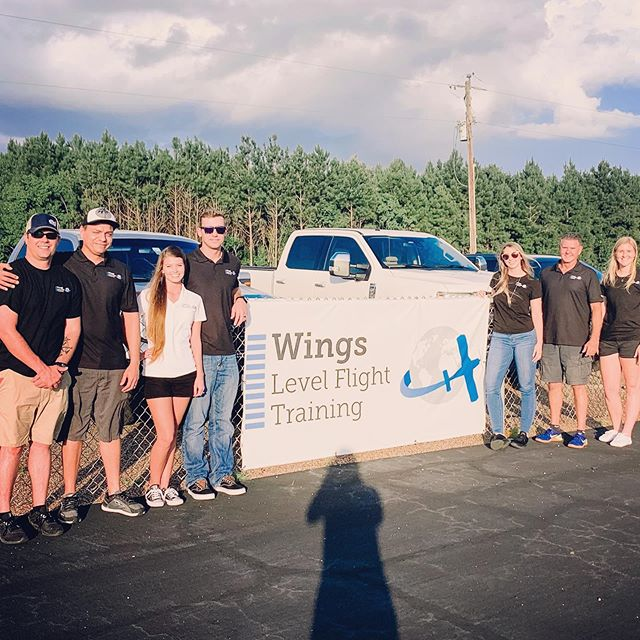 The Wings Level Flight Training Team! This week we welcomed two new awesome instructors, Savannah and Robert, and said goodbye to one amazing instructor, Aaron. This past month we also welcomed Claire as our admin, and Grant as an instructor. Go team!