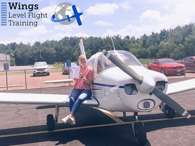 We are so incredibly proud of you Claire!! Congratulations, you did it! You are officially a Pilot!