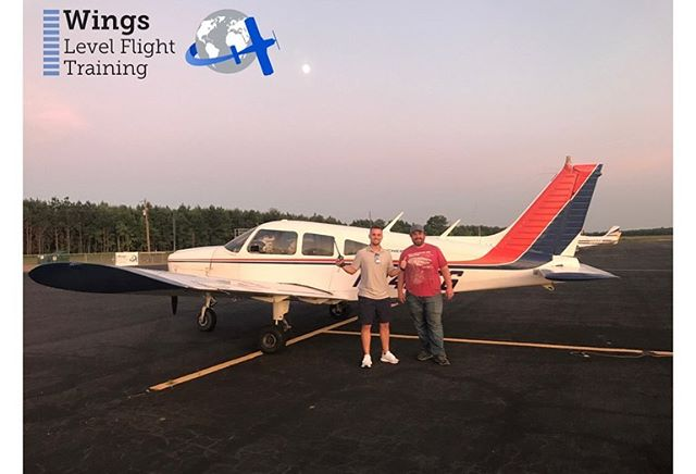 Another solo here at Wings Level Flight Training- Cleveland! Congratulations Brent, good luck with your new journey!