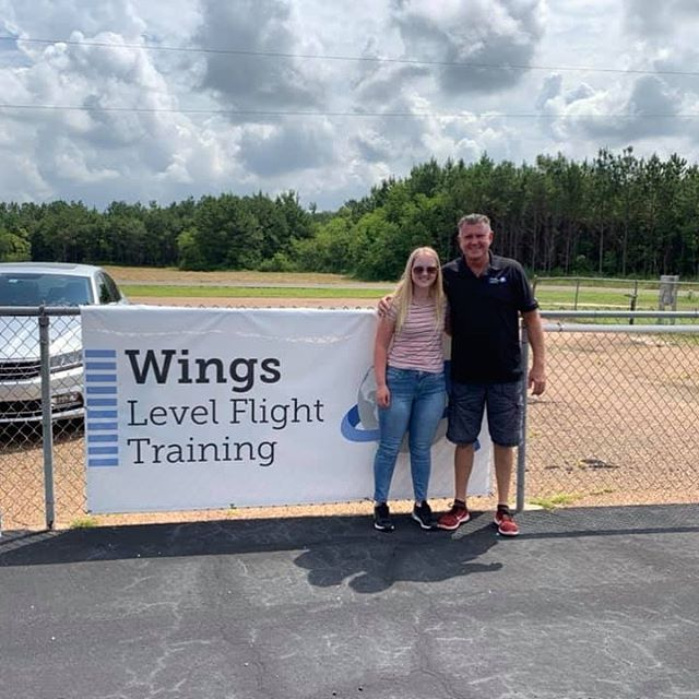 We had another one receive their Private Pilot Certificate today!! Such a great day, and we are so excited for you, Morgan!!