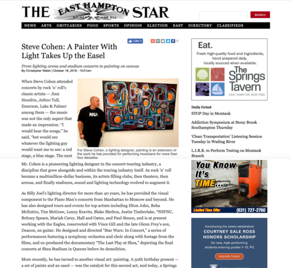 East Hampton Star, October 2018 -