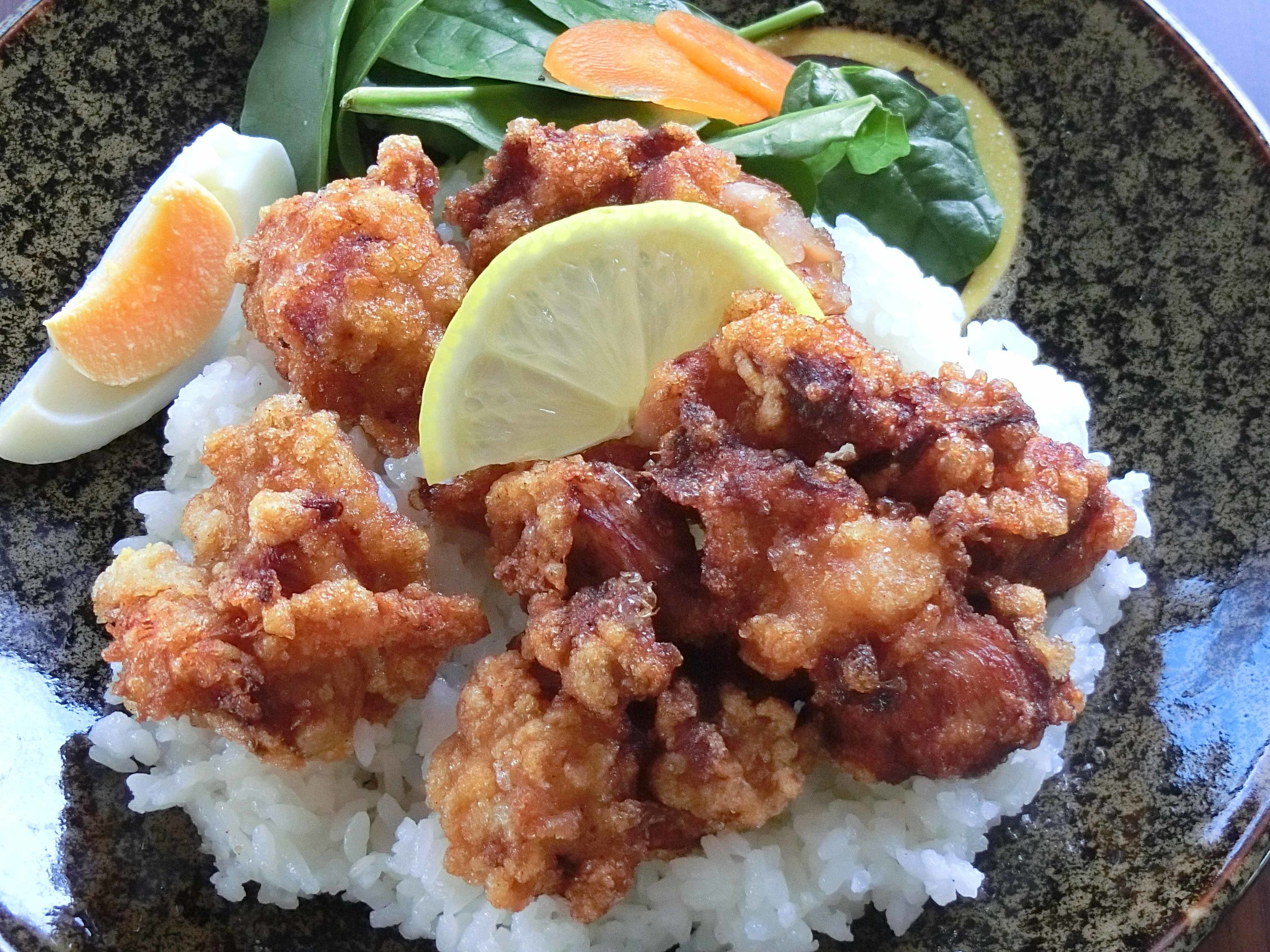 Come On Mate! - Gluten free Karaage Chicken w rice.jpg