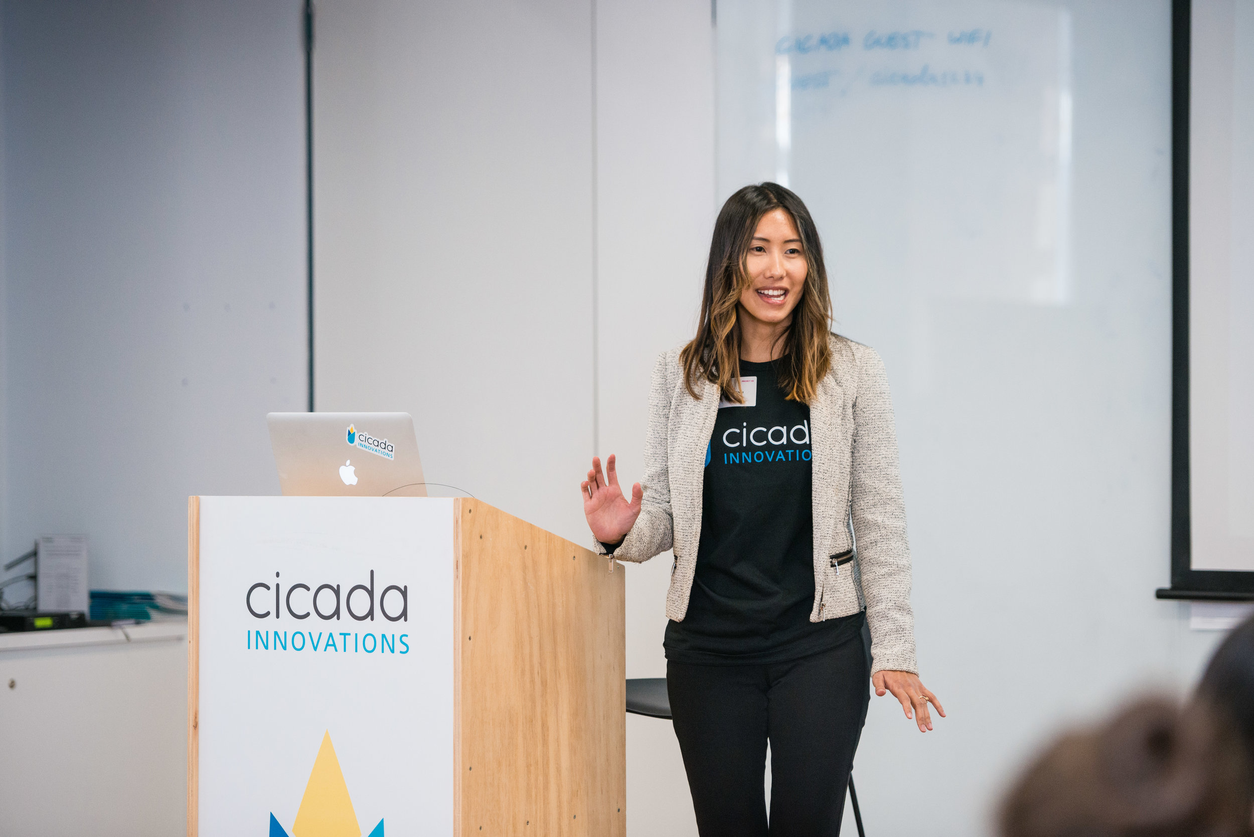 Michelle Chee,   MedLab Program Manager, Cicada Innovations