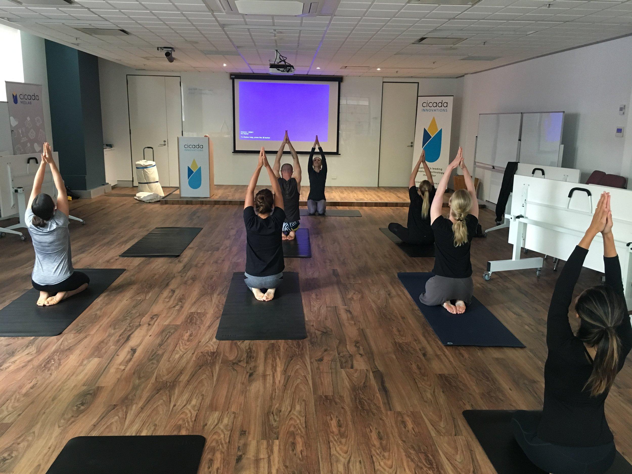 Indoor Yoga