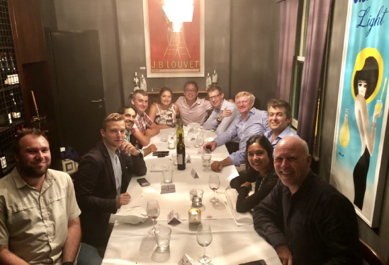 C-Suite Dinner - We invite Cicada Innovations' C-suite executives together for a quarterly dinner with facilitated discussion.