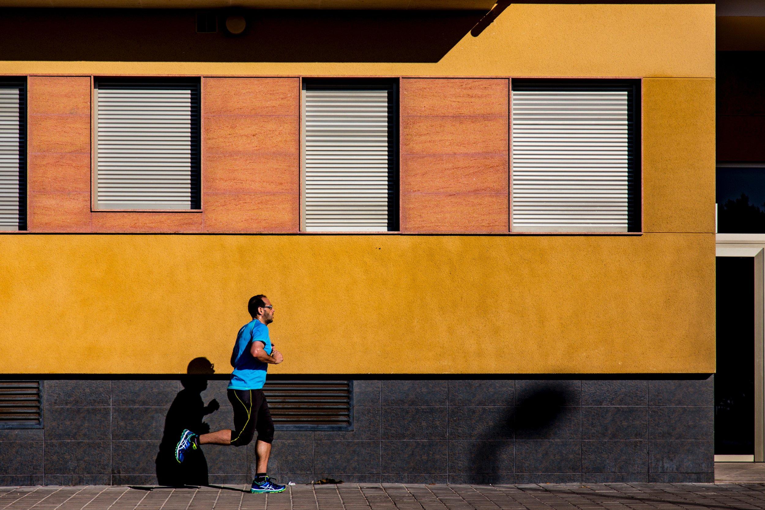 Man running. Image from pixels.com