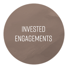 Invested Engagements are built on  regular, recurring advisor-ship sessions . We will focus on identifying what's holding you & your organization back, through  harnessing your capacity to envision and realize the transitions necessary for deep change , and fully purpose-driven modes of operating.