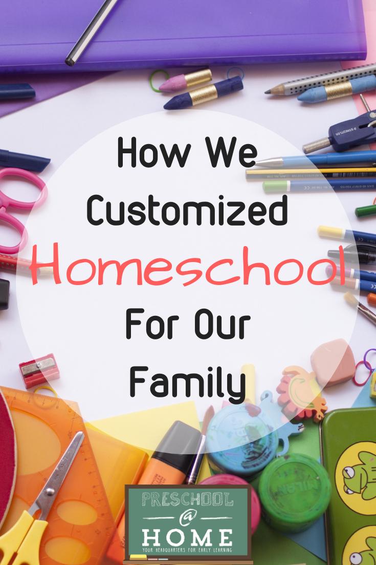 How We Customized Homeschool
