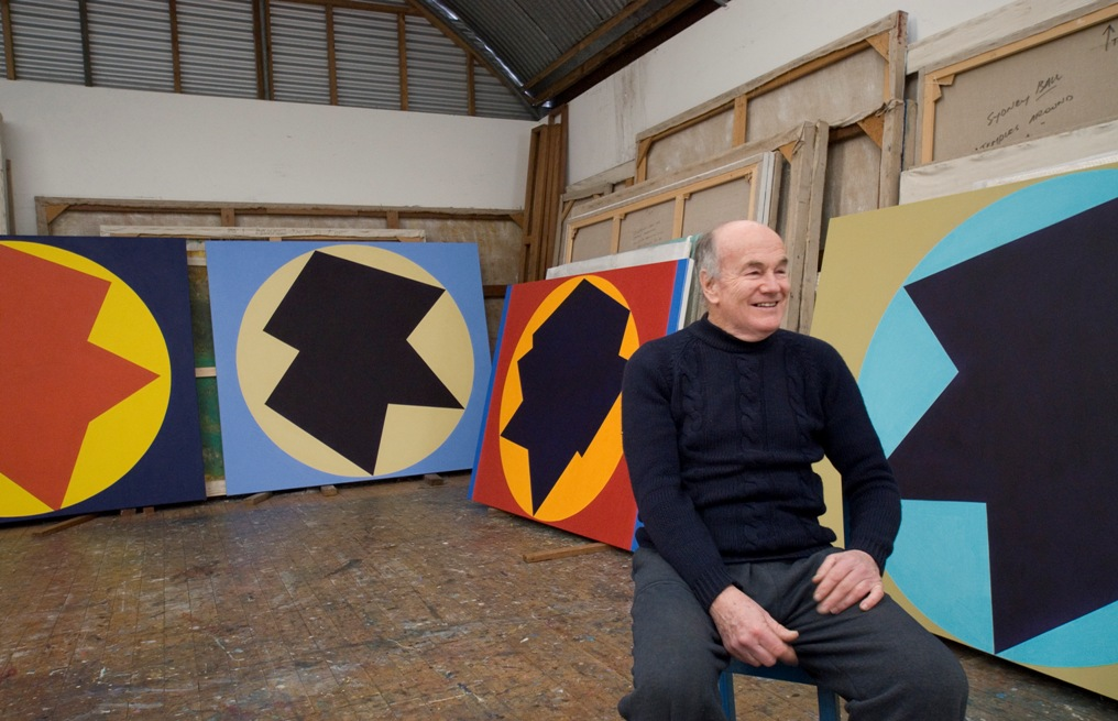 Sydney Ball in his studio, 2015. Photography by