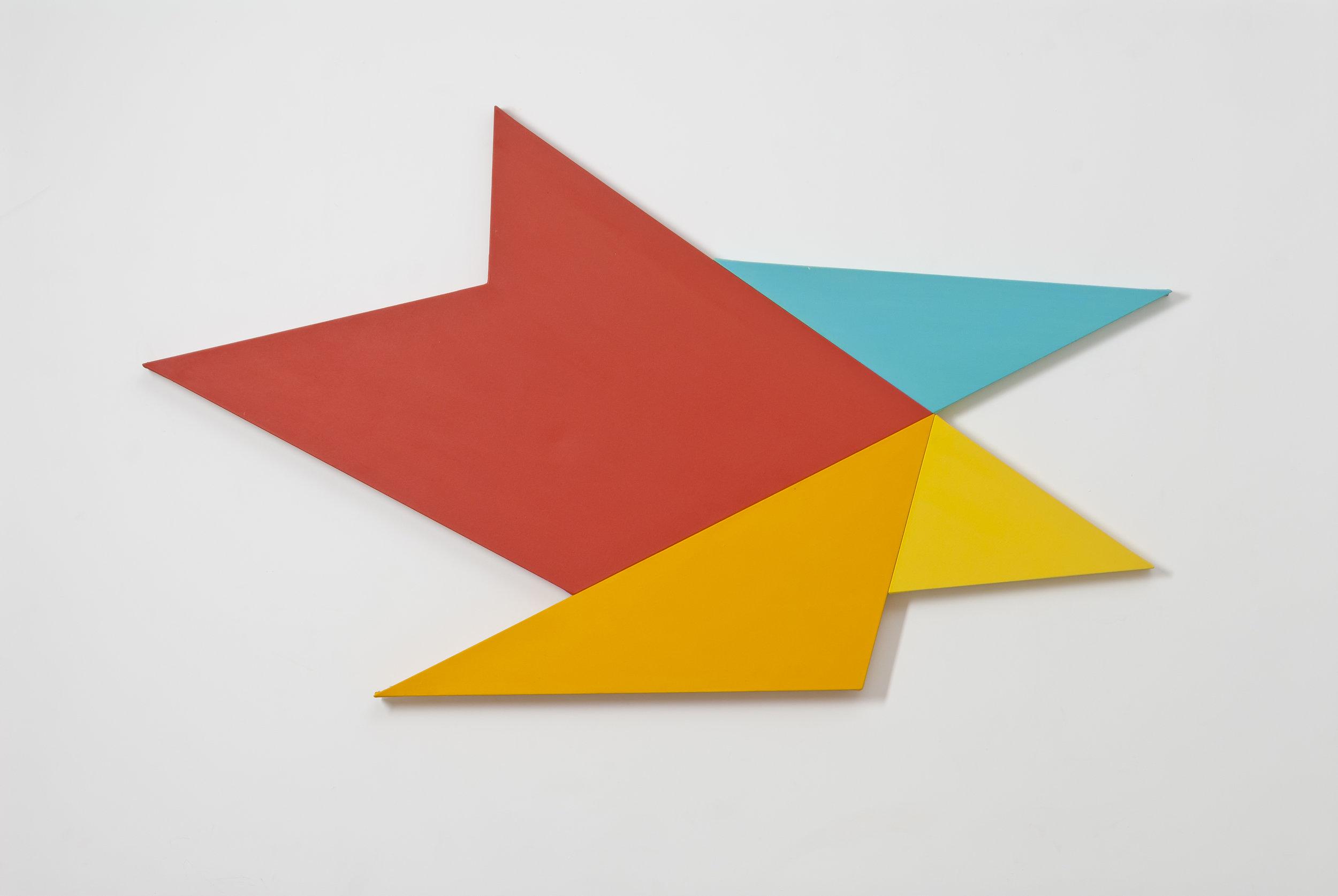 Infinex #40 , 2014, acrylic on canvas, 101.5 x 177 cm.
