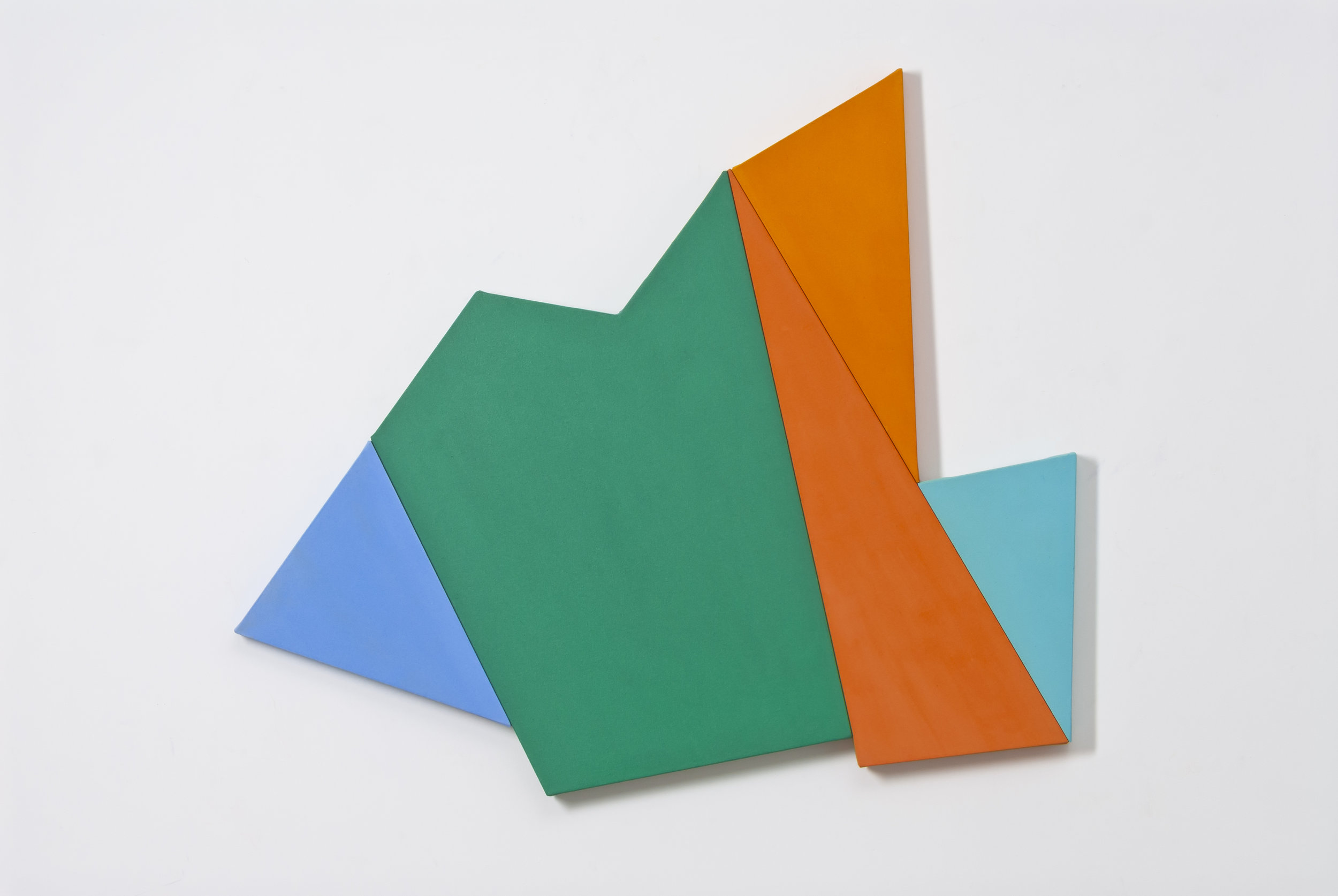 Infinex #35 , 2014, acrylic on canvas, 114 x 123 cm.