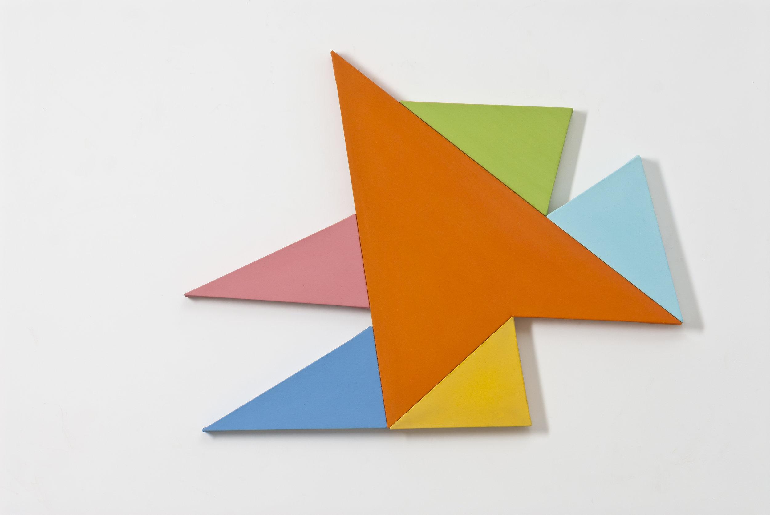 Infinex #39 , 2014, acrylic on canvas, 79 x 103 cm.
