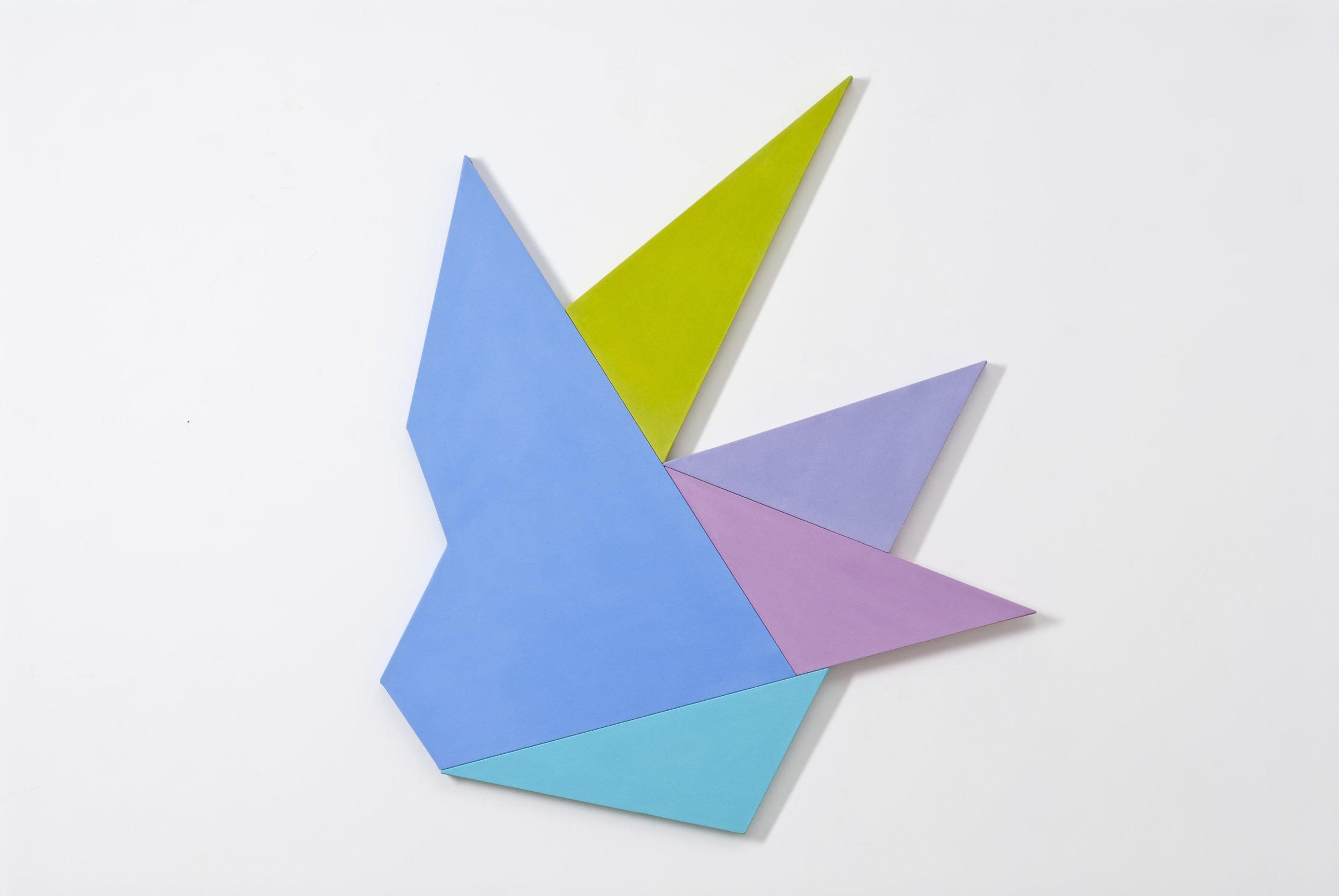 Infinex #43 , 2014, acrylic on canvas, 113 x 118.5 cm.