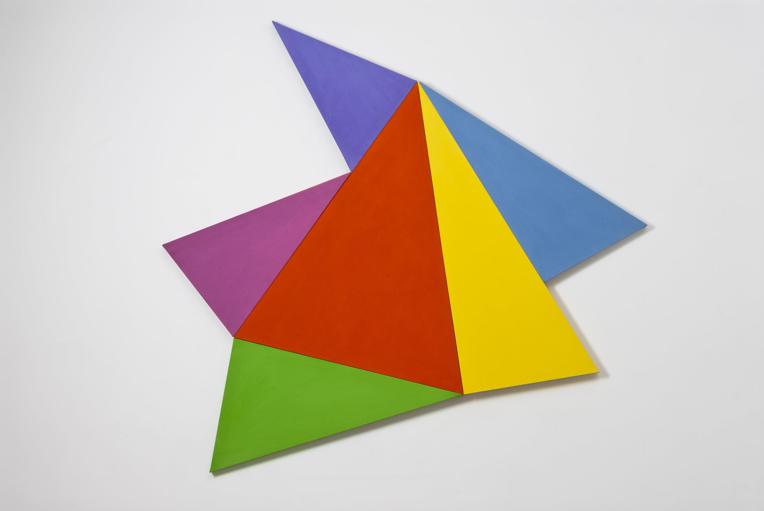 Infinex #38 , 2014, acrylic on canvas, 177.5 x 188.5 cm.
