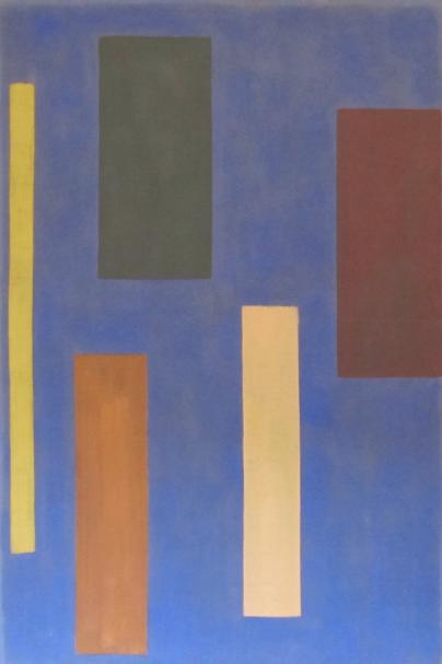 Delta , 1970-71, acrylic on linen, 219 x 145 cm.