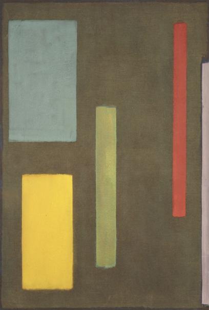 Sonora , 1971, acrylic on linen, 203 x 137 cm.