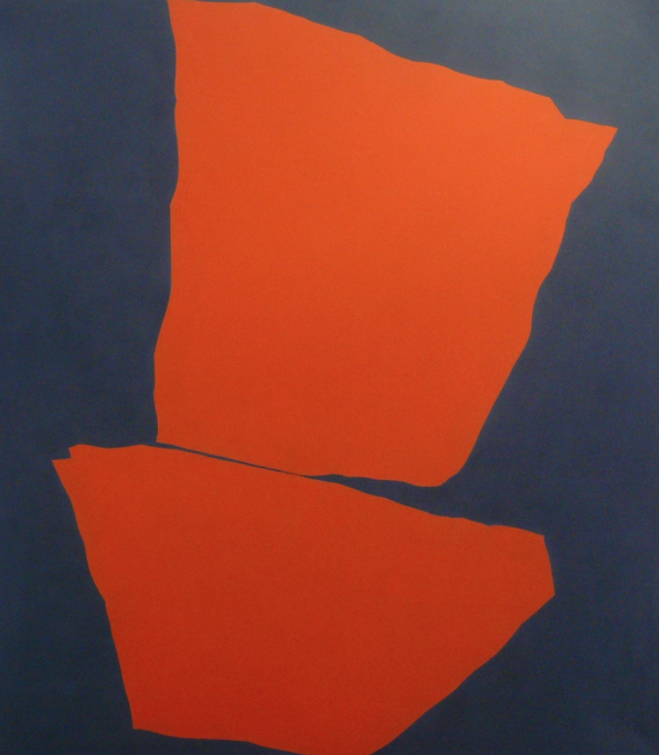 Phoenix Towers II , 2005, acrylic on canvas, 153 x 138 cm