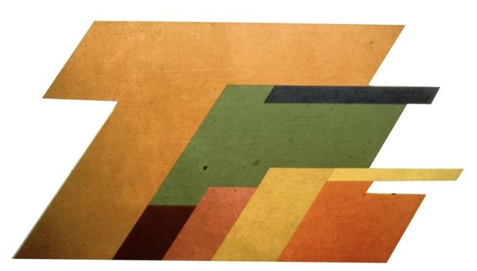 Strata Span , 1968-1969, acrylic on canvas and enamel on plywood, 229 x 457 cm.