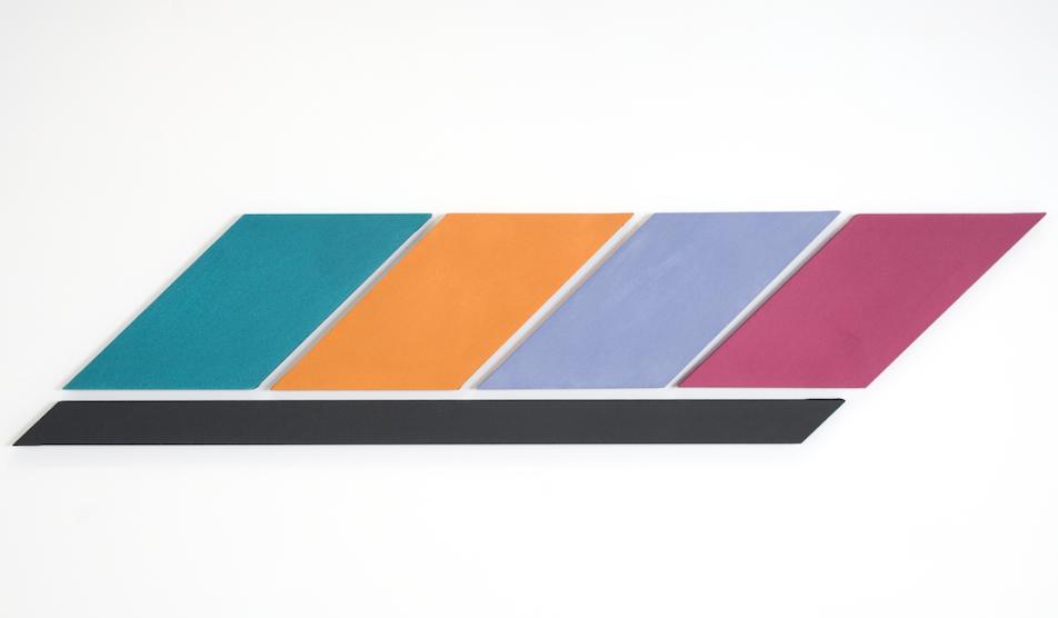 Infinex Lumina #9 , 2010, acrylic on canvas, 47 x 209cm