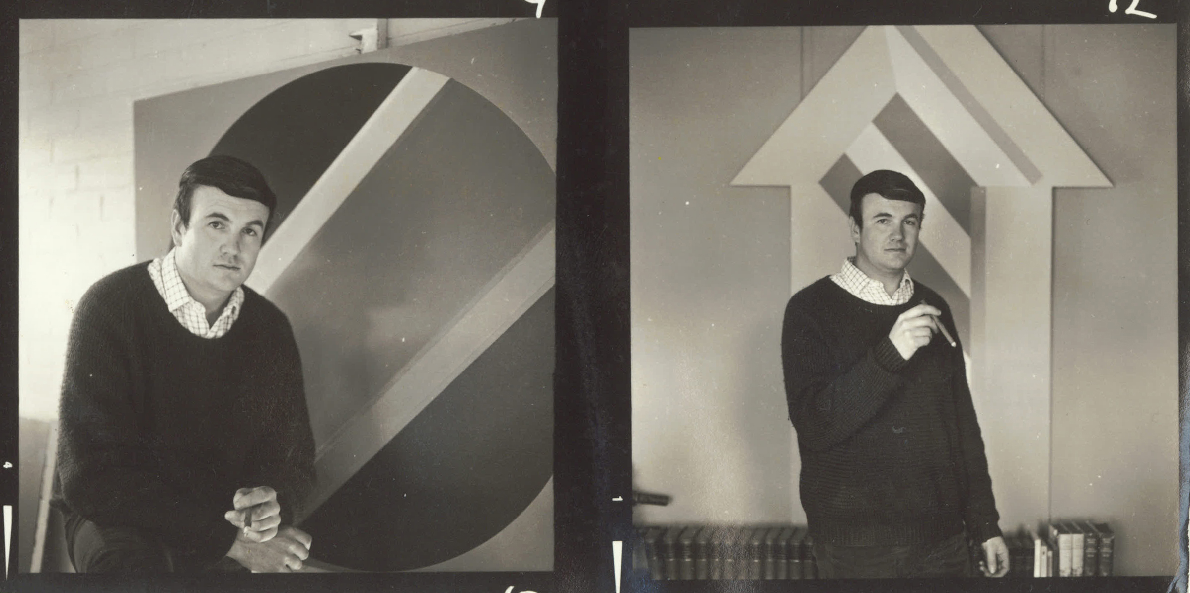Sydney Ball in the studio at his mother's house_ Collinswood_ Adelaide_ 1969_2b.jpg
