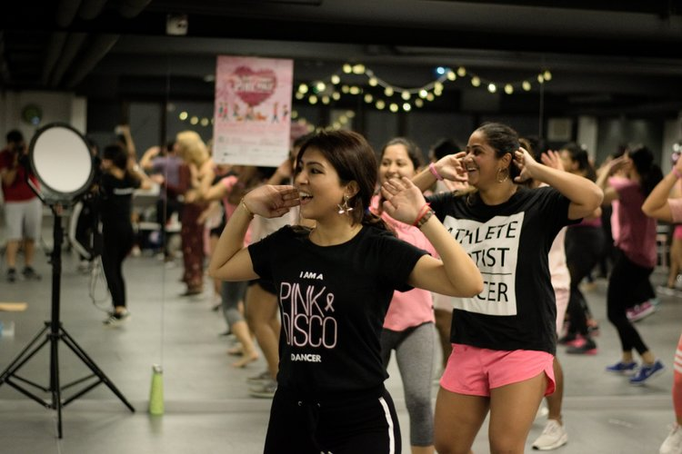 WORKSHOPS & EVENTS - We host fun large-sized classes, charity workshops, themed dance events and social mixers. Browse through our projects to see what we've been up to and what we can offer.