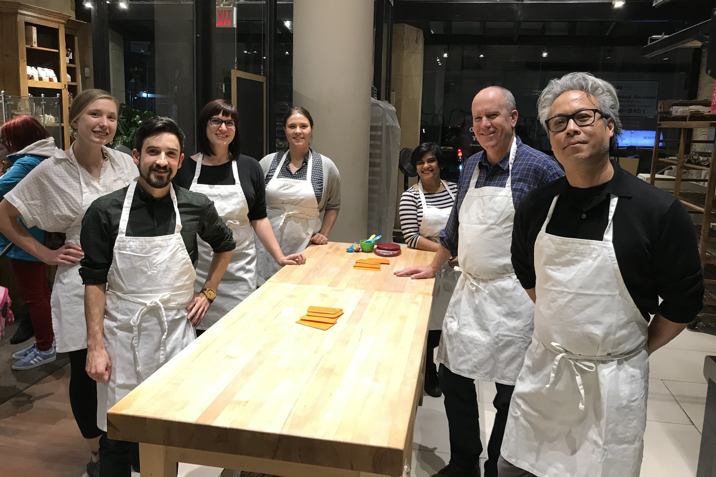 Loci Makes Pizza - November 10, 2018Team Loci kicks back after work and learns to make pizza at @lepainquotidien