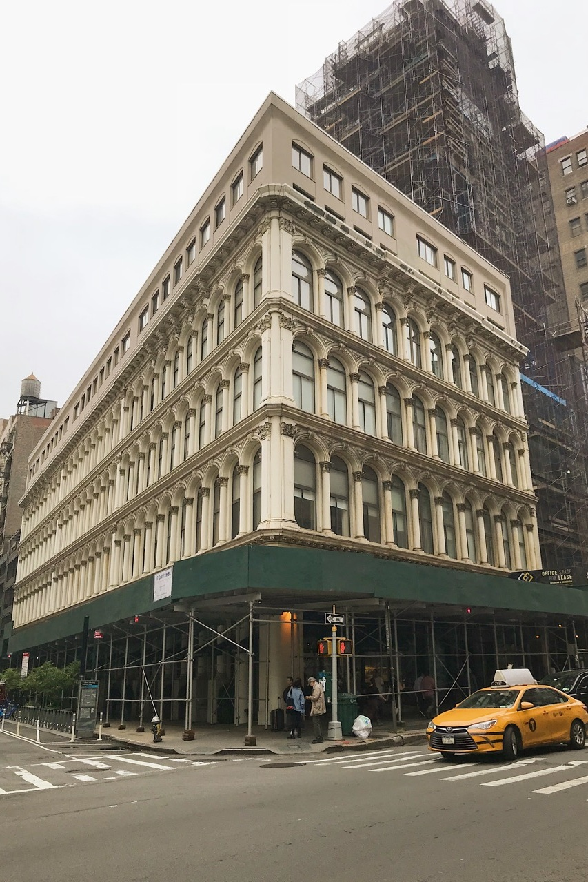 Loci Provides Consulting Services in Greenwich Village - September 14, 2018Originally erected in 1868 as the James McCreery Dry Goods Store, the Cast Iron Building in Greenwich Village is now a co-op residential building. We are providing consulting services on the ground floor retail spaces and bringing the building's fire safety system into compliance.⠀