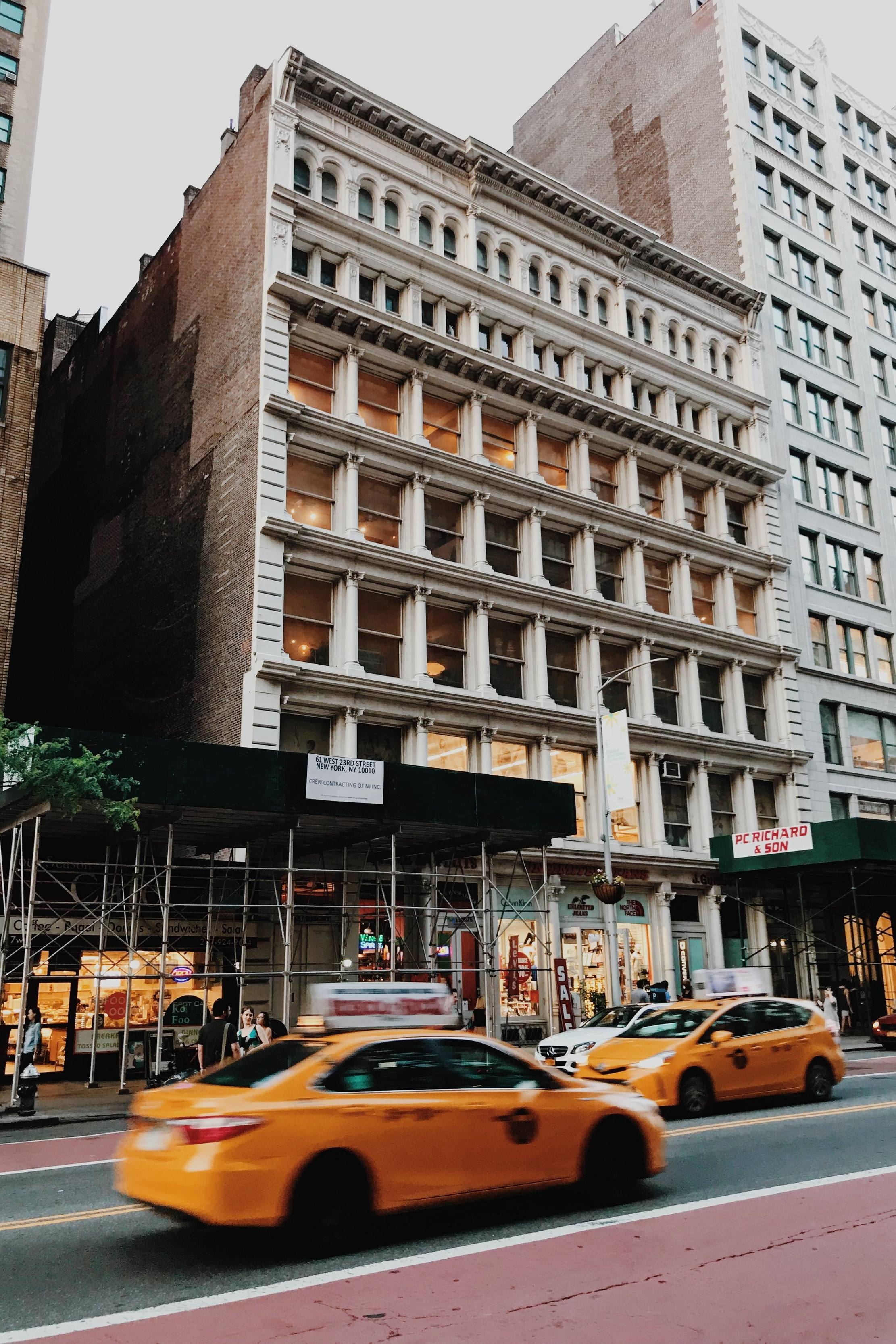 Cast Iron Exterior Restoration Nears Completion - June 21, 2018Work is almost complete on the exterior restoration of this century-old cast iron beauty located in the Ladies' Mile Historic District near Madison Square Park.