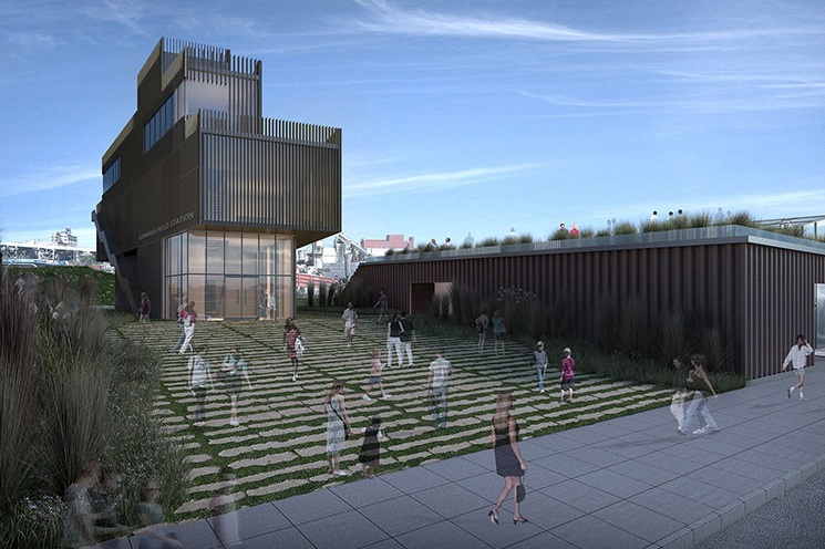 Gowanus By Design Publishes Salt Lot Park Design - May 31, 2018Designed by Paul Coughlin, Kenneth Miraski, Jennifer Leone, and David Briggs, Dave's non-profit Gowanus by Design publishes the Gowanus Salt Lot Public Park. The proposal includes a new retention tank/headhouse facility, the Gowanus Field Station, a composting/greenhouse facility, and a passive recreation area surrounded by wetlands.