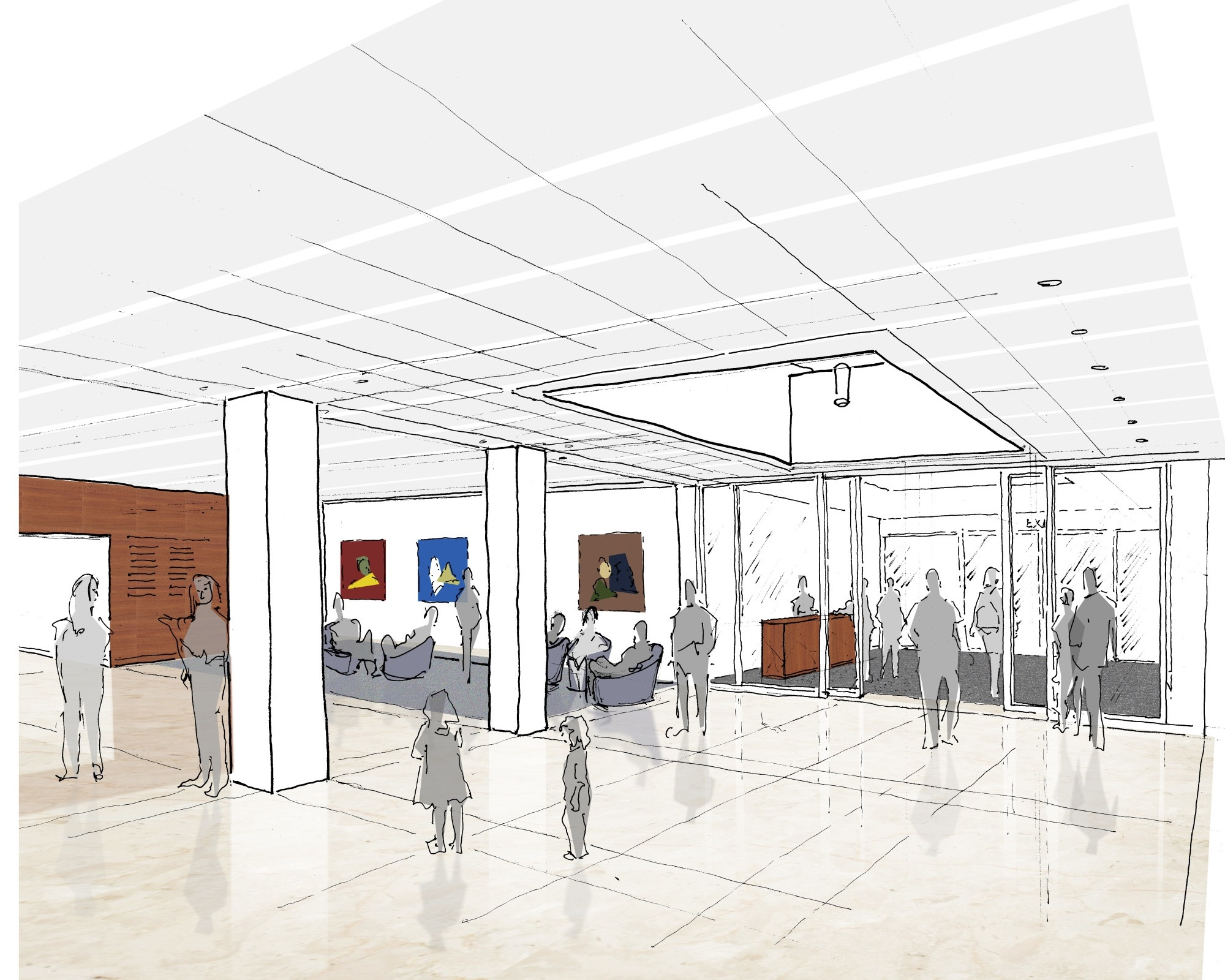 Loci Begins Phase One of the SJJCC in Forest Hills - April 2018Loci starts working on the first phase of implementing the master plan for the Sid Jacobson Jewish Community Center in East Hills, Long Island.