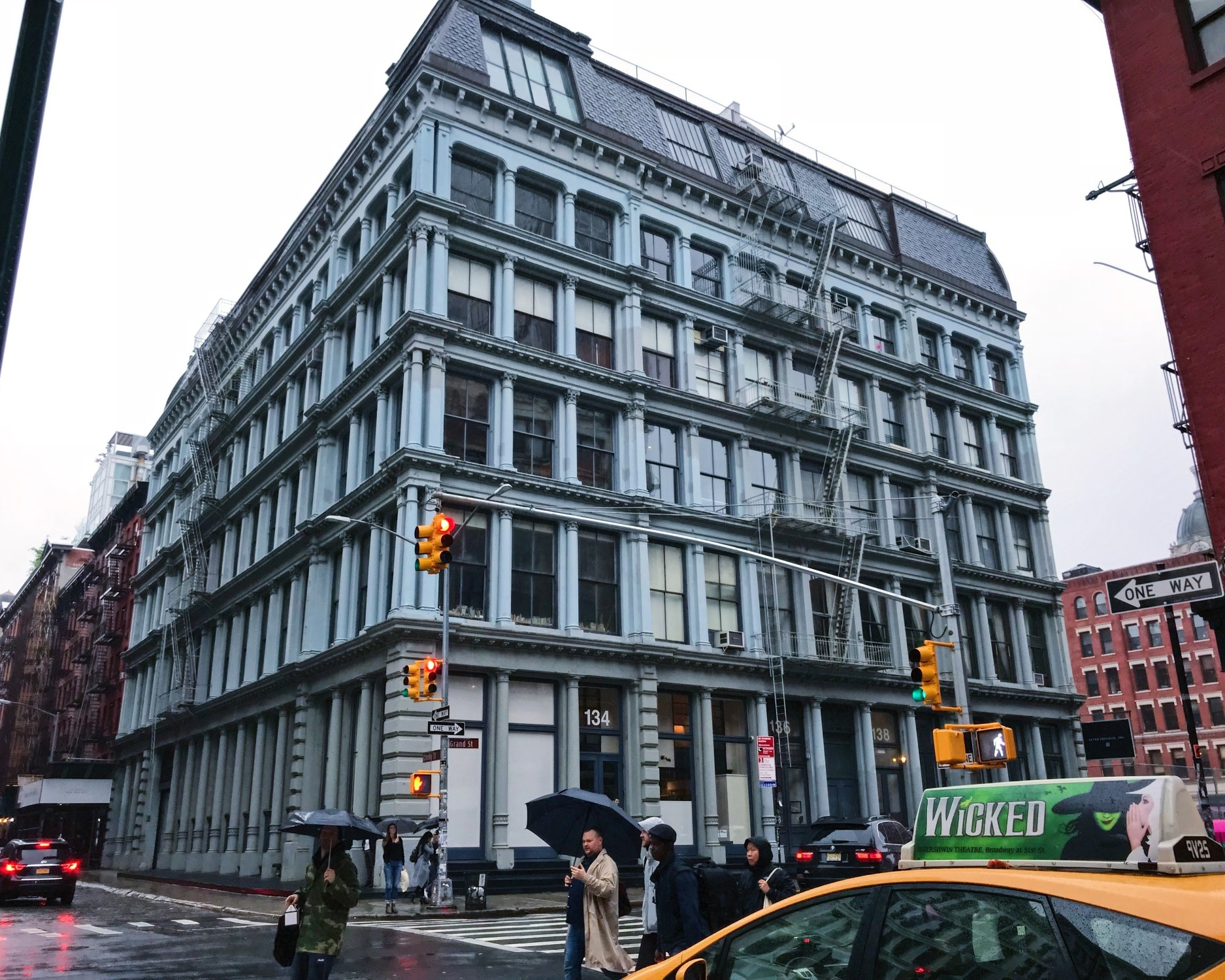Loci Selected to Restore Cast Iron Building in SoHo - December 2017Loci is selected to restore the existing cast iron façade at 136-140 Grand Street. The building is in the SoHo-Cast Iron Historic District Extension and was built in 1900.