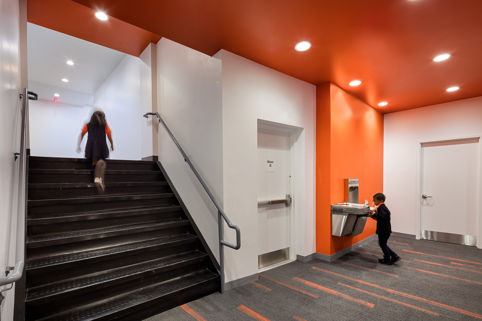 Second Phase Construction Complete at TEP - September 2017Construction is complete for the second phase of the 18,000 sf Pre-K, Kindergarten, and 1st grade TEP Charter School in Washington Heights.