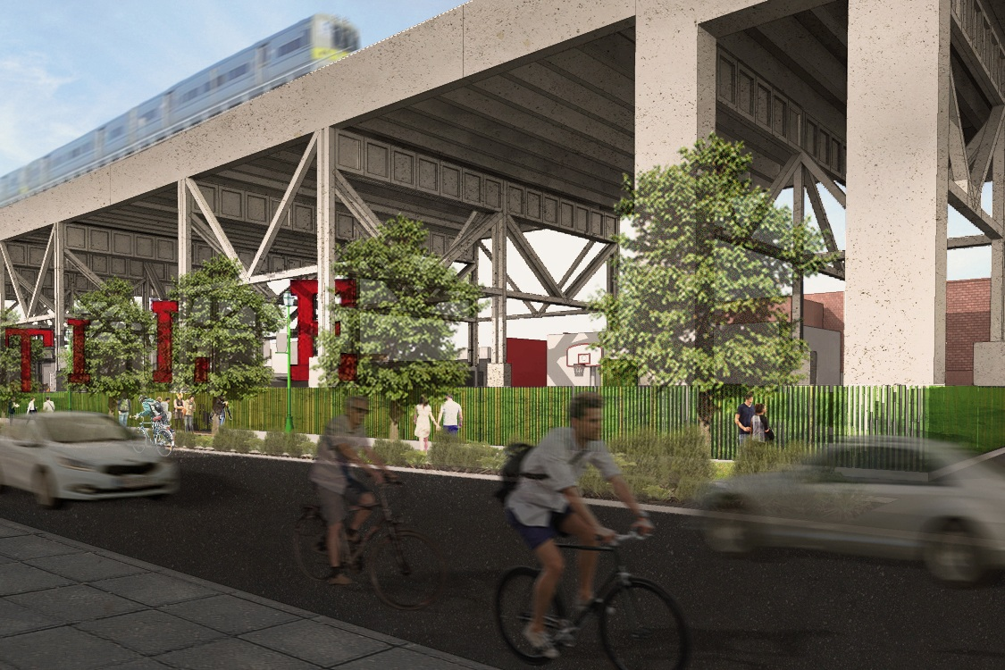Loci's Kentile Park Design Makes Headlines - January 2017Our design for the Kentile Park in Brooklyn is back in the news! Local blogs and online news organizations tell the history and story behind resurrecting the park under the tracks and incorporating the iconic Kentile letters.Brooklyner, DNAInfo, 6sqft, and the Brooklyn Paper.