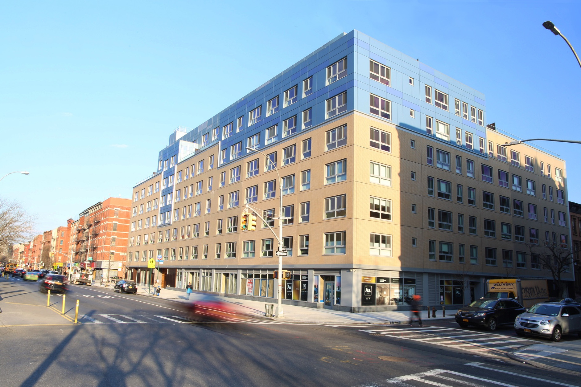 Aurum Condos in Harlem Near Completion - December 2016In 2013 we took over management of a portfolio of projects that was closing its doors. The first project, the 115-unit Aurum Condominiums in Harlem, nears completion.