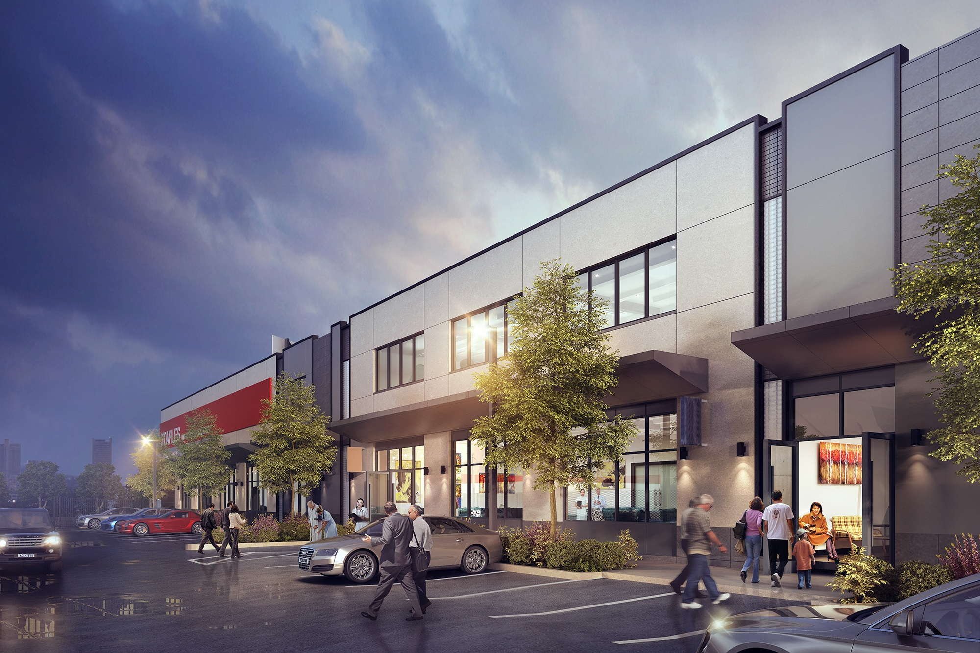 Loci To Design Retail and Medical Center in Queens - March 2016Loci starts work on designing the conversion of a 55,000 SF warehouse in Queens to a retail and medical center.