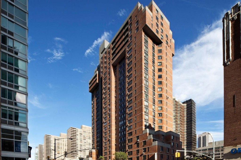 Loci Completes Restoration Work on Lincoln Amsterdam Apt Tower - October 2015Loci completes the $1.7 million exterior restoration of the Lincoln Amsterdam Apartment Tower, a 25-story Mitchell Lama housing development west of Lincoln Center.