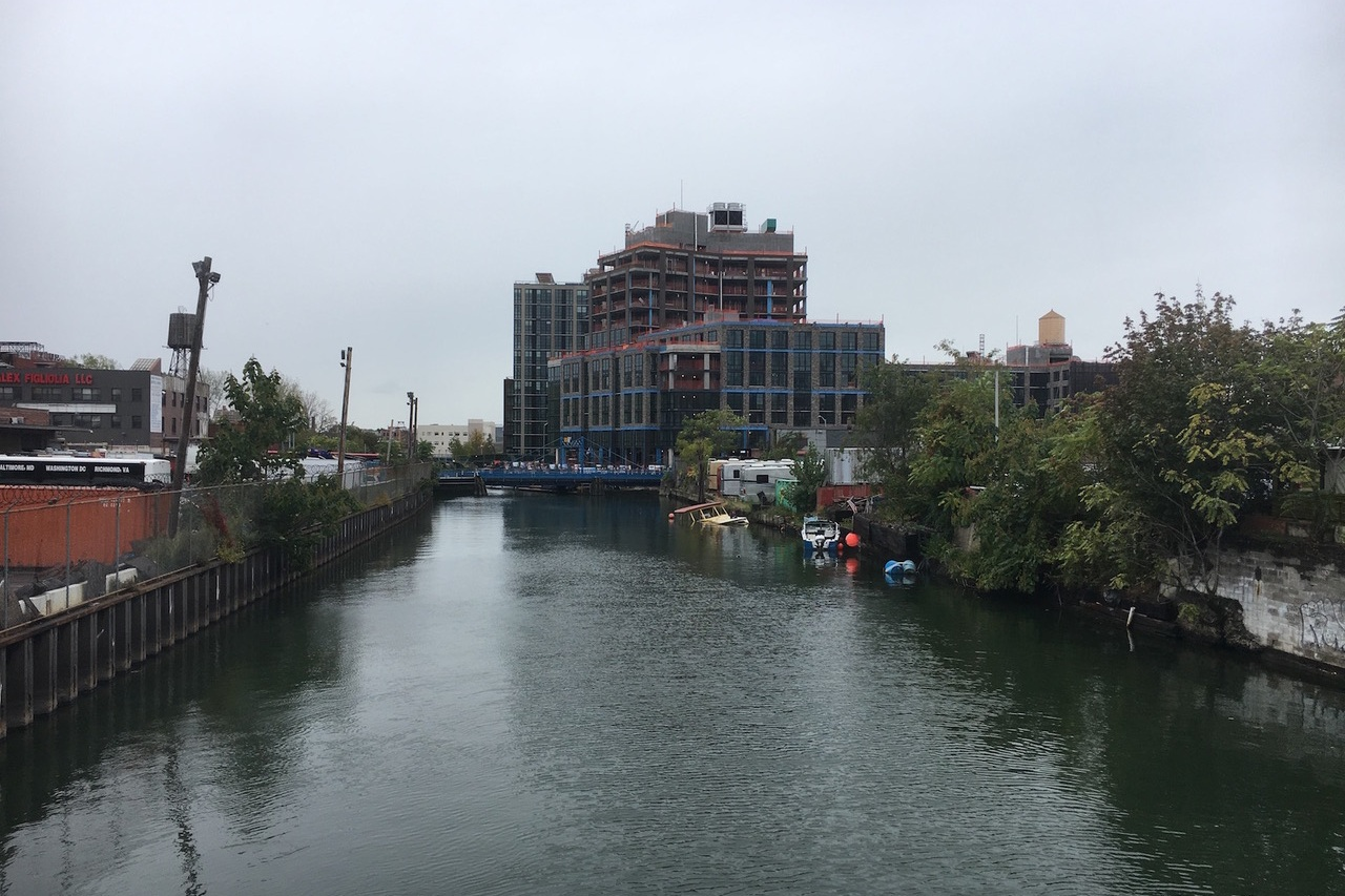 """In Gowanus, Big Development Can Wait - July 29, 2011David Briggs interview in the New York Times """"In Gowanus, Big Development Can Wait"""". Full article: here."""