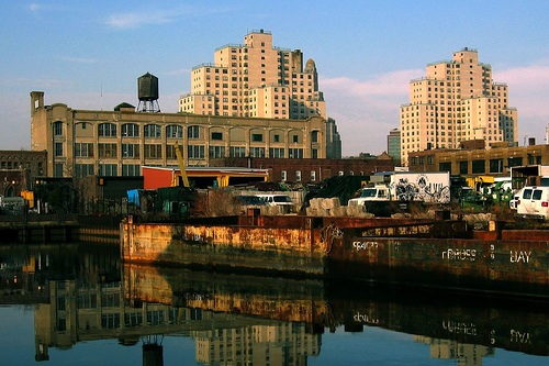 """Diving Into The Gowanus - September 9, 2011Interview with David Briggs and Anthony Deen, co-founders of Gowanus by Design on the public radio program, """"Cityscape,"""" discussing urban planning issues at the Gowanus Canal. Read article: here."""