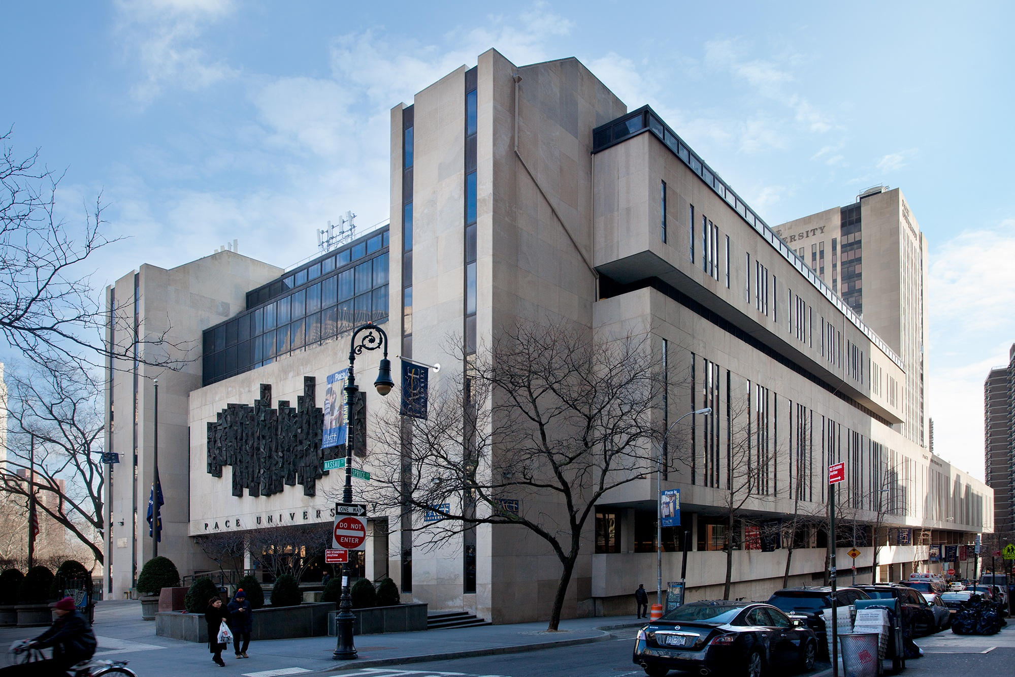FISP Services at Pace - January 30, 2019Continuing our work at Pace University, Loci has been engaged to provide FISP services at the exterior of 1 Pace Plaza, a 500,000 sf building and the campus center.