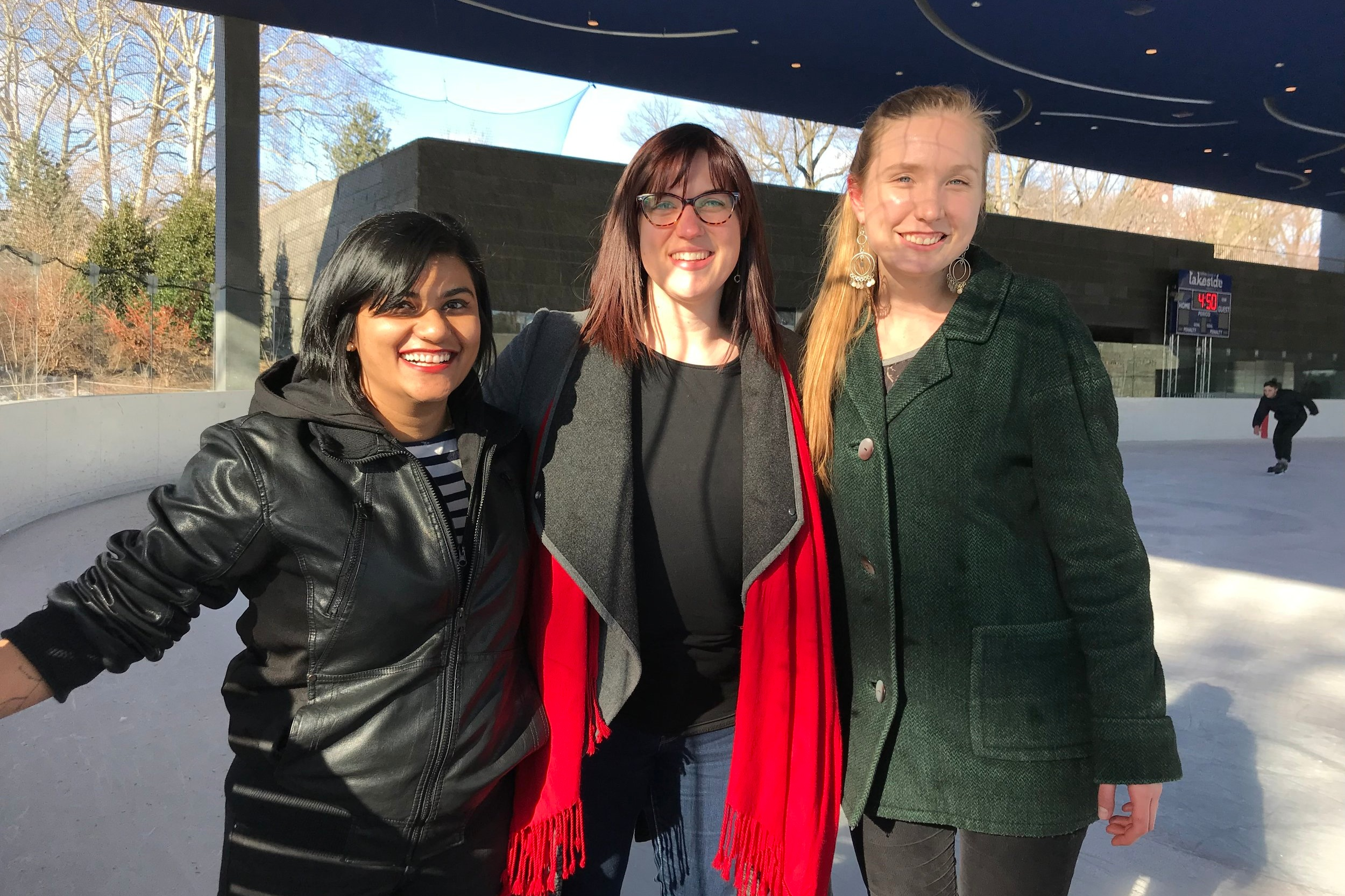 Ice Skating at Prospect Park - March 14, 2019Team Loci visited the LeFrak Center designed by TWBTA at Lakeside in Prospect Park this week for an ice skating outing!